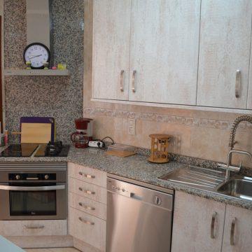 Apartment 'Meerblick Mallorca' Küche