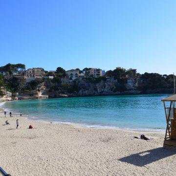 Am Strand von Porto Cristo, Mallorca