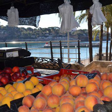 Markt Promenade von Porto Cristo, Mallorca