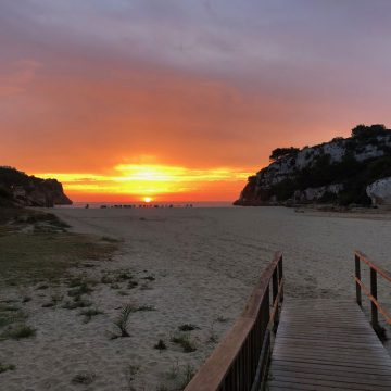 Strand von Cala Romantica, Mallorca